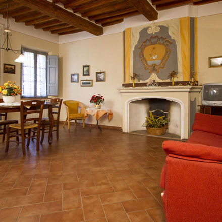 Vacation apartments in Foiano della Chiana | Villa Scannagallo in Tuscany