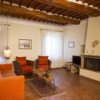 Vacation apartments near Lucignano | Villa Scannagallo in Val di Chiana