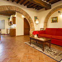 Vacation apartments in Foiano della Chiana | Villa Scannagallo in Tuscany - Accessible for disabled people